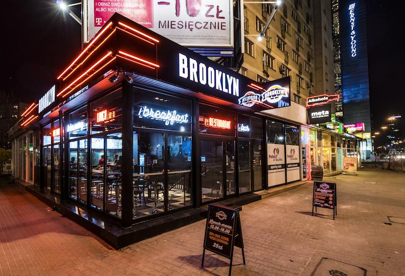Brooklyn Restaurant Bar Gastrowawa Pl Restauracje W Warszawie