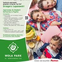 Kulinarna podroz dookola swiata w CH Wola Park_plakat